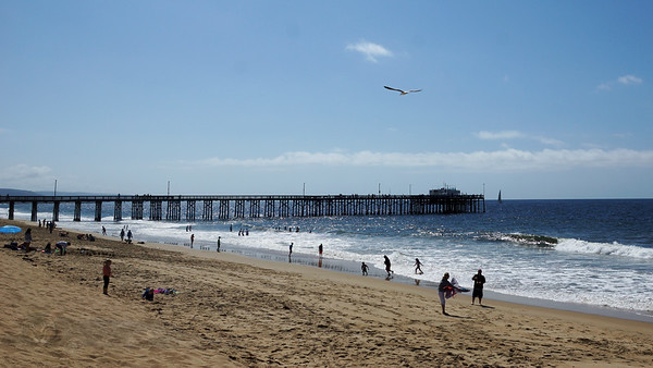 Balboa Peninsula Beach and Pier, California
