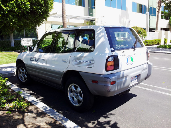 Toyota RAV4 EV - Electric Vehicle 1997 to 2003
