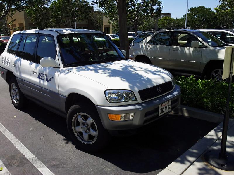 Toyota RAV4 EV - Electric Vehicle 1997 to 2003