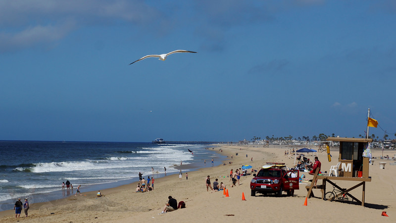 Balboa Peninsula Beach, California