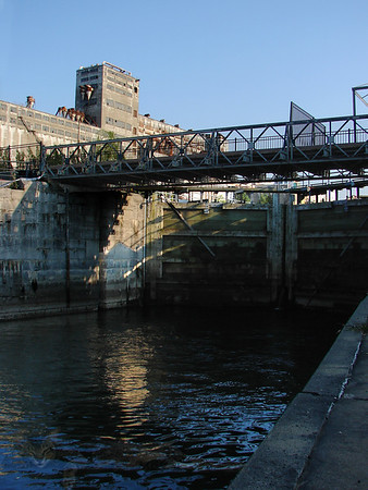 Montreal - Old Port - Lock Gates