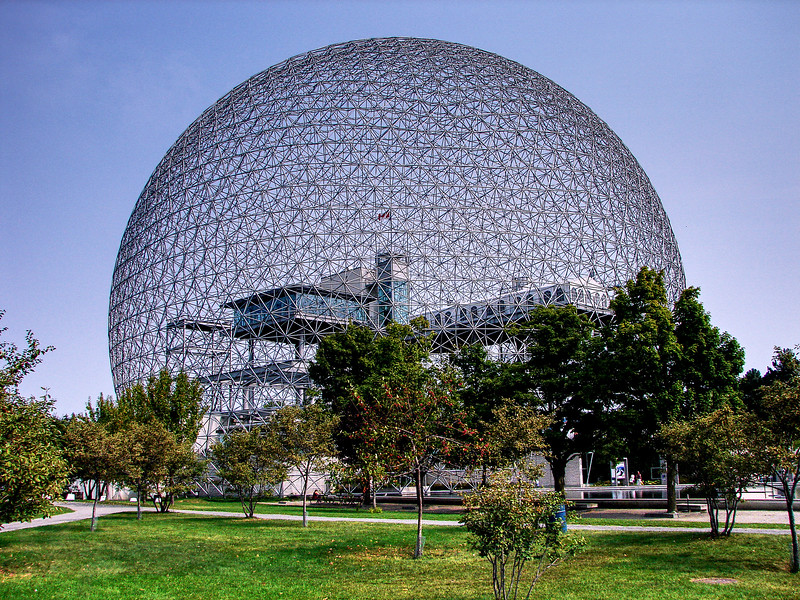 Montreal Biosphere - The America Pavilion for the 1967 Expo.