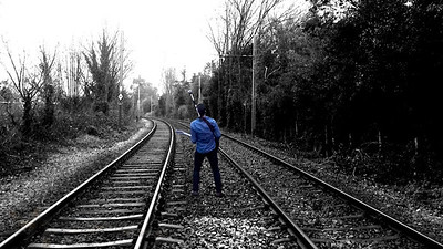 Rock on the Tram Tracks