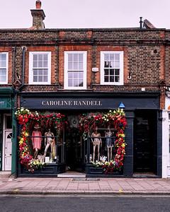 Colourful Shop Display in Wimbledon Village