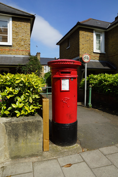 Pillar Box - VR - Queen Victoria - Hartfield Road
