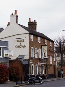 Rose and Crown Pub - Wimbledon Village
