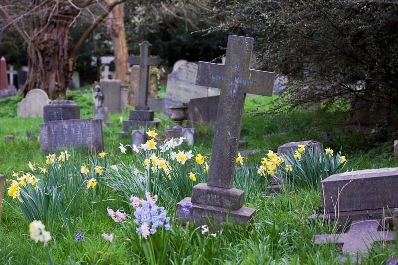 St Mary's - Graveyard - Merton Park