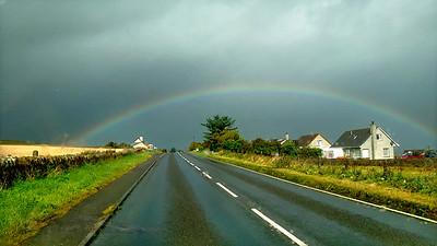Rainbow Between Kirkwall and Tingwall