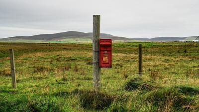 Egilsay - Postbox