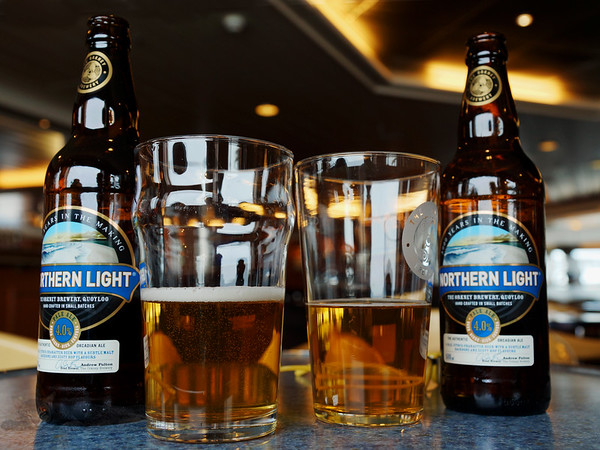 Two Glasses of Northern Light