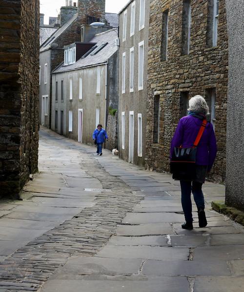 Stromness - Lane - Cottages