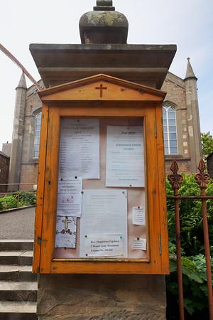 Stromness - Church Notice Board