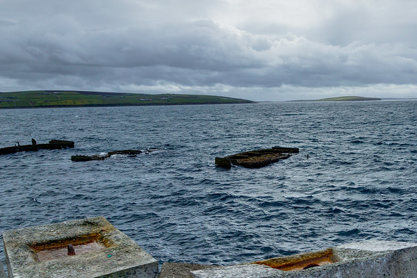 Churchill Barrier - Sunken Ship Wrecks - Orkney