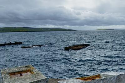 Churchill Barrier - Sunken Ship Wrecks - Orkney