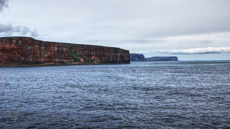 Orkney Ferry - View of Cliffs