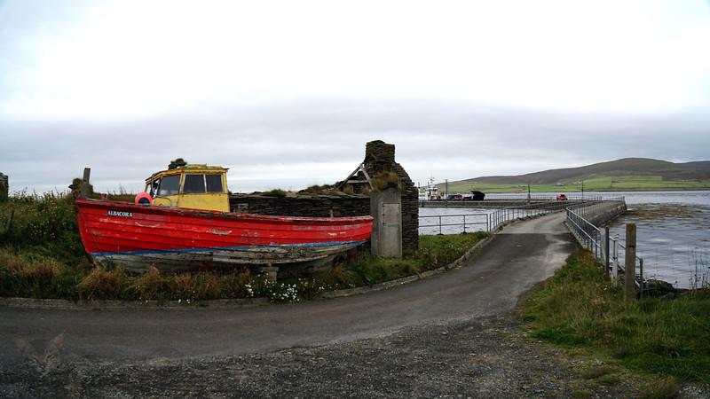 Egilsay - Albacora and Egilsay Pier - Orkney - 2020