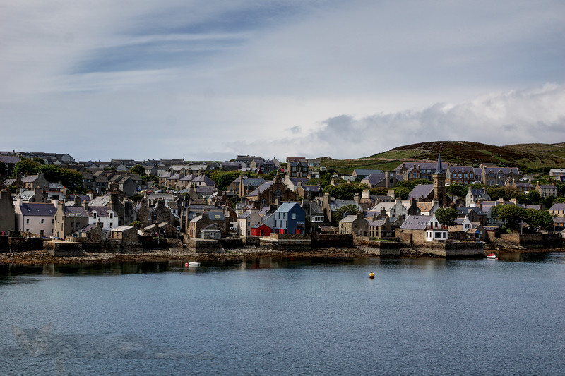 Sailing into Stromness, Orkney