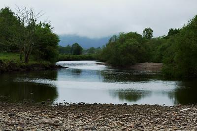 The River Earn near Comrie