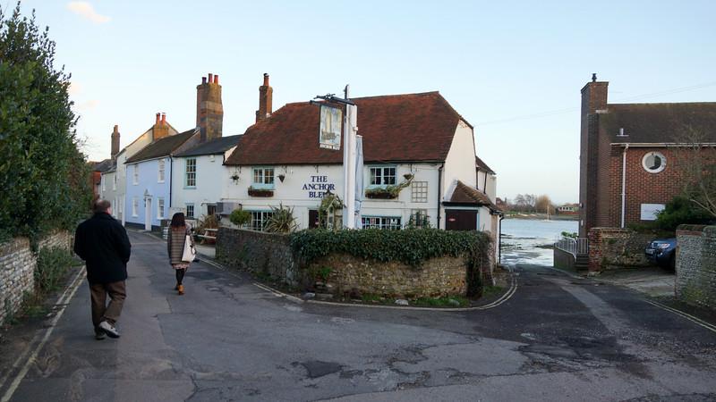 The Anchor Bleu at Bosham
