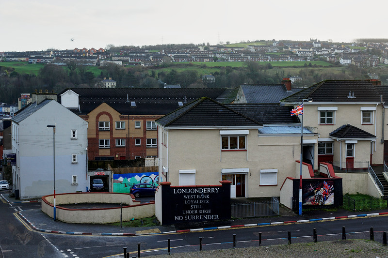 Derry - Mural and Words