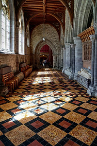 St David's Cathedral - Light and Shadow