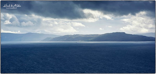 Skye and Raasay across Inner Sound