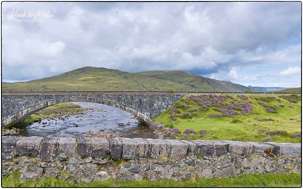 Sligachan Old Bridge and New Bridge A87
