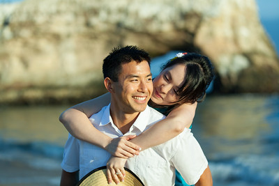 Santa Cruz Engagement Photography at Natural Bridges Beach