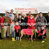 20/10/2016<br /> The Oaks Trial Stake at Fermoy Coursing Club was won by Delightful Loa for the Flynn Family Syndicate.<br /> The John F Kennedy Cup is presented to Lar Flynn by Geraldine O`Keeffe, Nora Flynn holds the dog and Fergus Flynn holdsthe replica, also present John Healy Noel Flynn, Ned O`Brien holding Michael O`Brien, John Kenneally,Labhras Flynn, Chris O`Brien, Seanog Kenneally, Sean O`Callahan, Paddy O`Brien and Justin Gowan