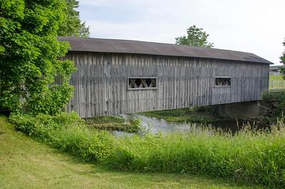 CANE RD BRIDGE SIDE VIEW