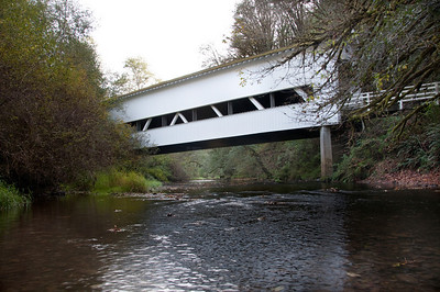 Deadwood Covered Bridge - Take HWY 126 to Mapleton, continue on HWY 36 to Swisshome. Close to Milepost 12, Turn left on Deadwood Creek Road. Drive 5 miles and turn right on the Gravel road (Sign says Deadwood Covered Bridge) for about a quarter mile to the bridge.