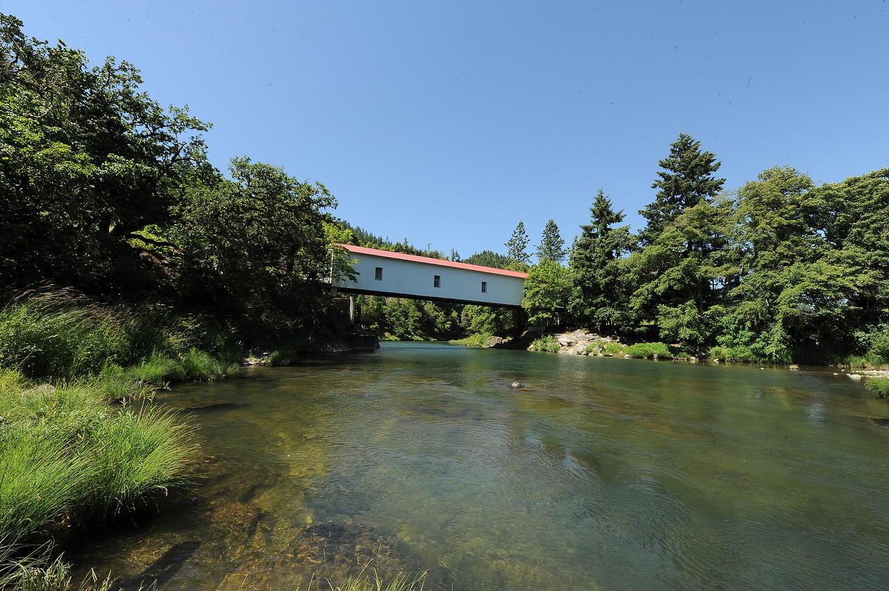 Milo Academy Covered Bridge - 2.