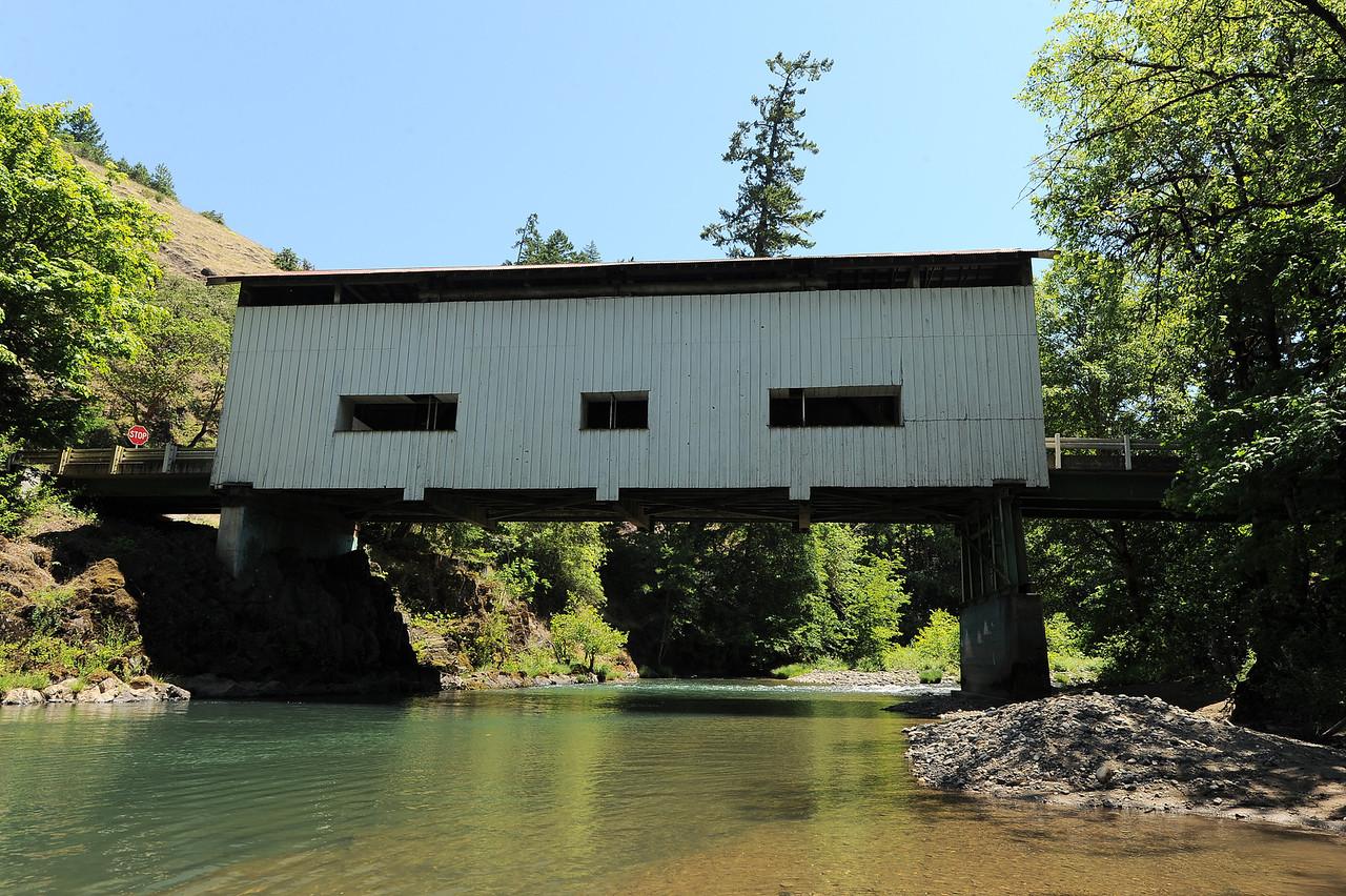 Cavitt Creek Covered Bridge - 2.