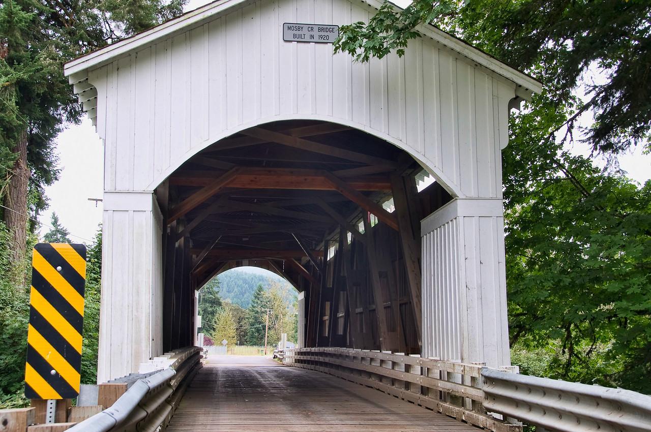 Mosby Creek Covered Bridge 3