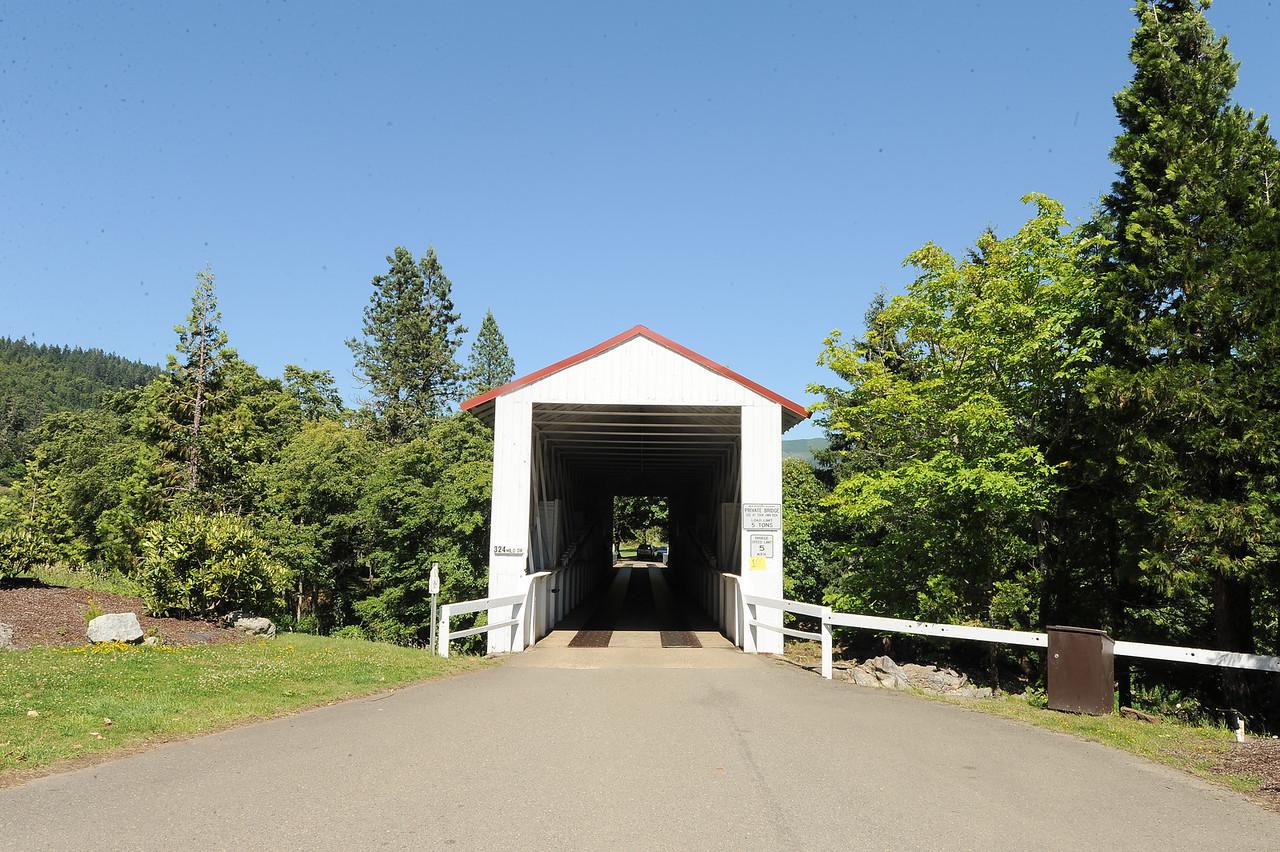 Milo Creek Covered Bridge - 3.