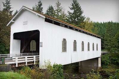 Dorena Covered Bridge 1