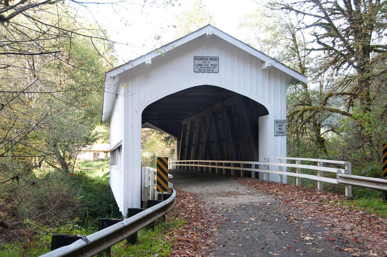 Deadwood Covered Bridge 1
