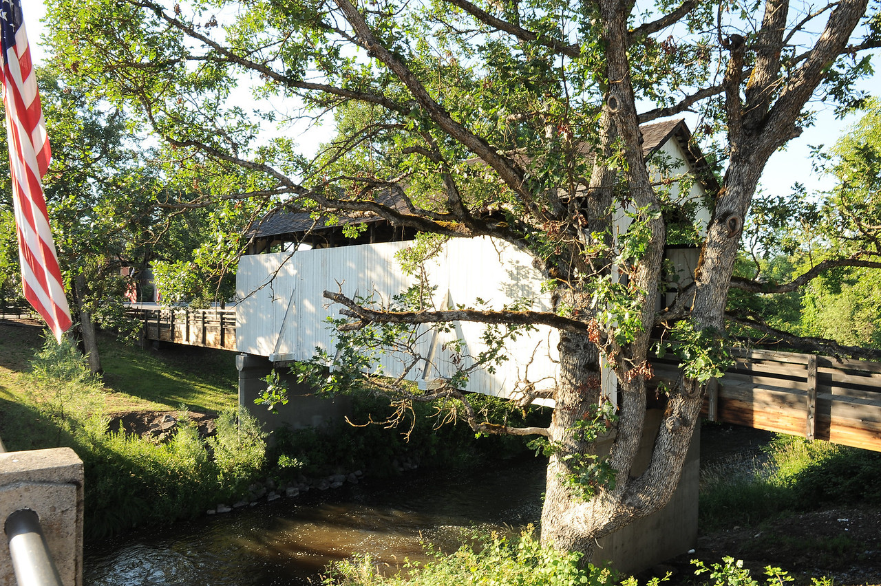 Antelope Creek Covered Bridge - 3.