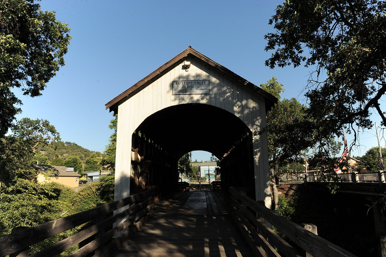 Antelope Creek Covered Bridge - 2
