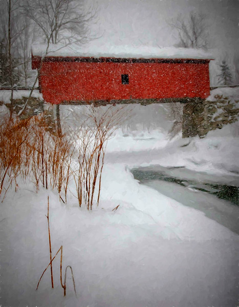 Slaughterhouse Bridge, Northfield, VT #3