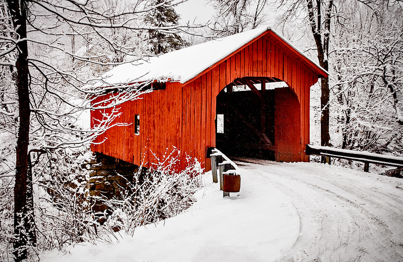 Slaughterhouse Bridge, Northfield, VT