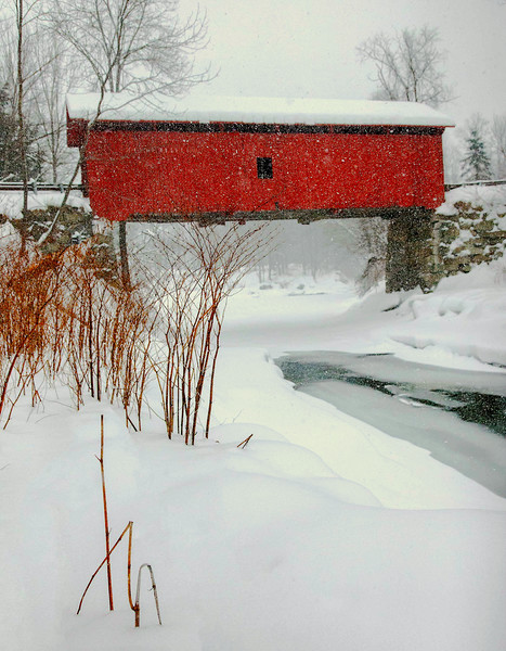 Slaughterhouse Bridge, Northfield, VT #2