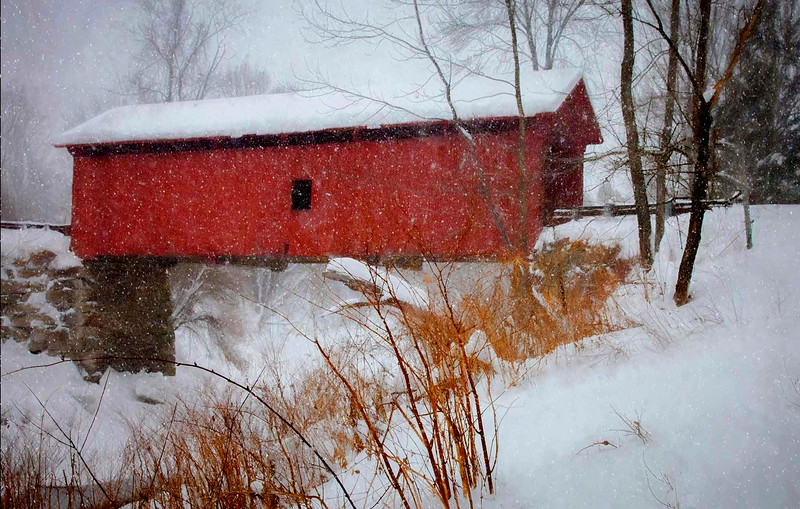 Slaughterhouse Bridge, Northfield, VT #4