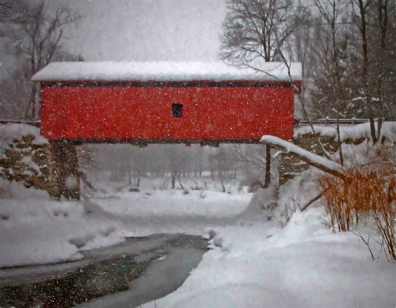 Slaughterhouse Bridge, Northfield, VT #5