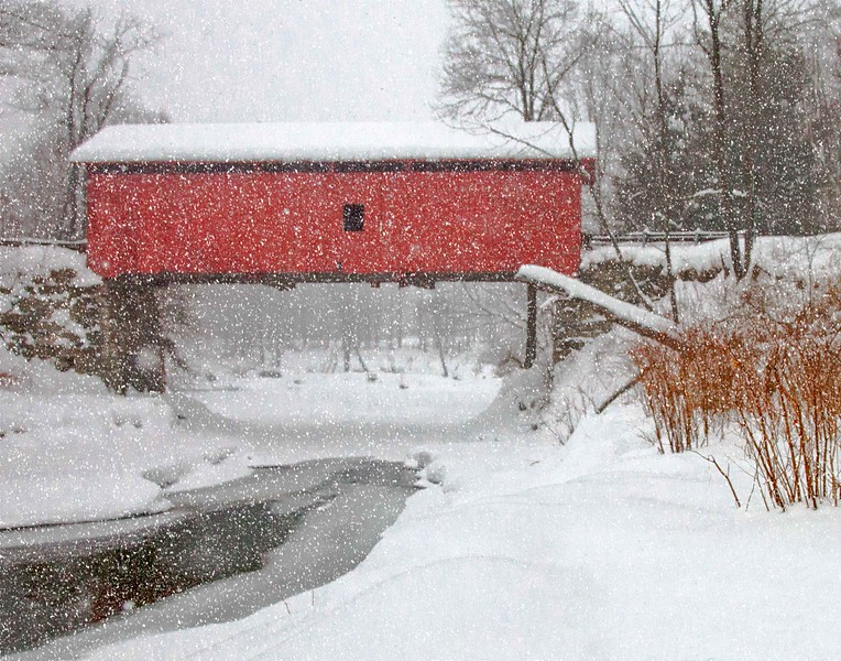 Slaughterhouse Bridge, Northfield, VT #6