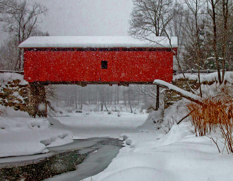 Slaughterhouse Bridge, Northfield, VT #7