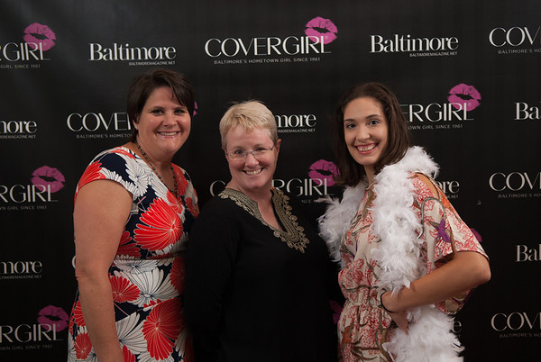 COVERGIRL'S REDCARPET AT BALTIMORE MAGAZINE