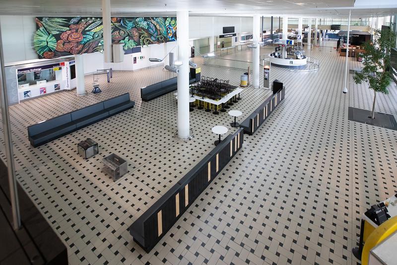 Brisbane International Airport, 7 May 2020. Photo: Attila Csaszar
