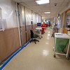 The modified ICU inside Holy Name Medical Center in Teaneck, New Jersey, during the first few days of the COVID-19 Pandemic. 03/18/2020 Photos by Jeff Rhode  Mandatory photo credit, and please use only with permission from Jeff Rhode and Holy Name Medical Center. <br /> If you need ID's or detailed captions please call 201-543-8067 or email jrhode@holyname.org