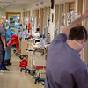 General scenes in the Intensive Care Unit at Holy Name Medical Center in Teaneck, New Jersey, during the first weeks of the COVID-19 Pandemic.  03/25/2020  Photos by Jeff Rhode  Mandatory photo credit, and please use only with permission from Jeff Rhode and Holy Name Medical Center. <br /> If you need ID's or detailed captions please call 201-543-8067 or email jrhode@holyname.org